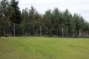 Забор из шарнирной сетки: фото 3